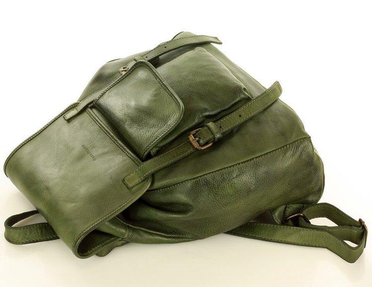 miejski plecak skórzany